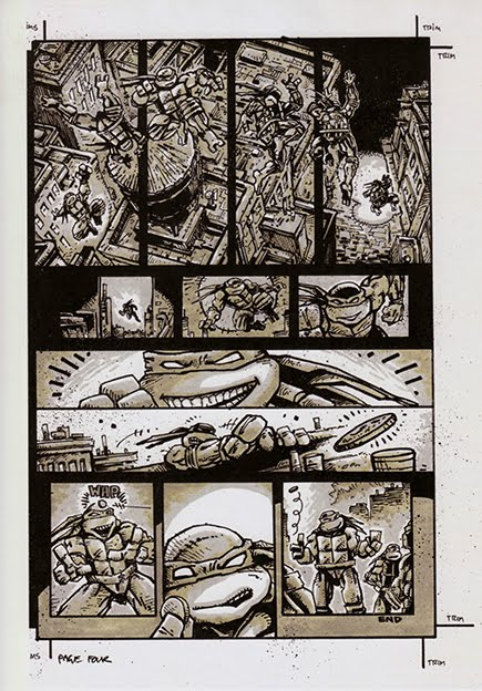 Comics from Kevin Eastman (pg. 4)