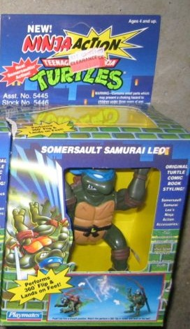 Somersault Samurai Leo (in box)