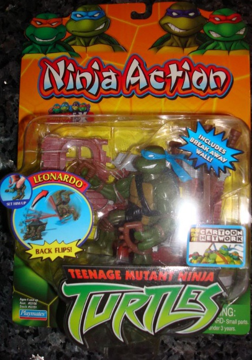 Ninja Action Leonardo (in box)
