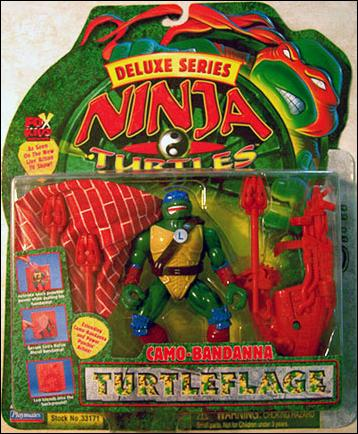 Camo-Bandanna Turtleflage Leonardo (Next Mutation) in box
