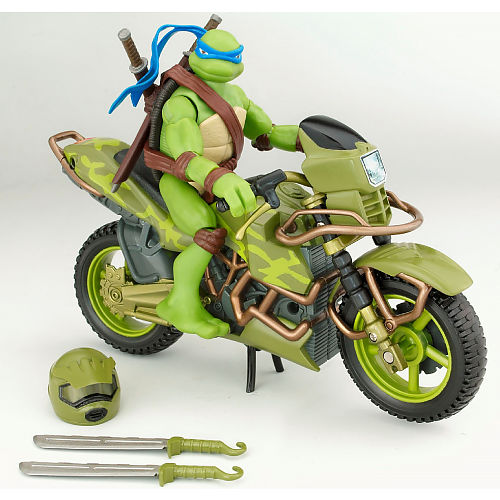 Leonardo Stunt Rider (TMNT 2007 film) boxed