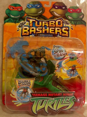 Turbo Basher Leonardo (boxed)