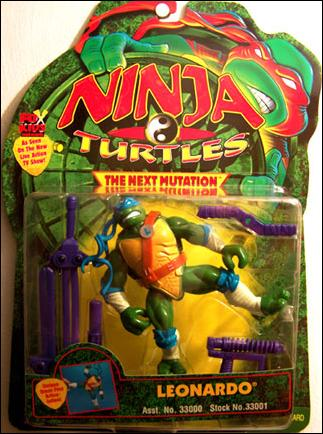 Leonardo (Next Mutation) in box