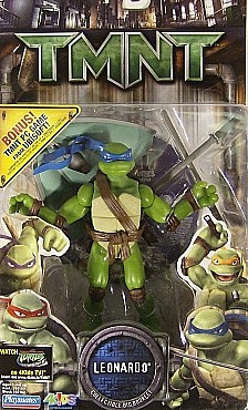 Movie Action Leo (TMNT 2007) boxed