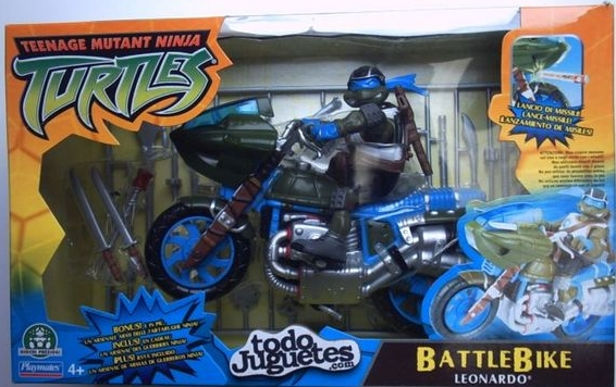 Battle Bike Leonardo (in box)
