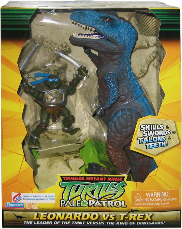 Leonardo Vs. T-Rex (in box)