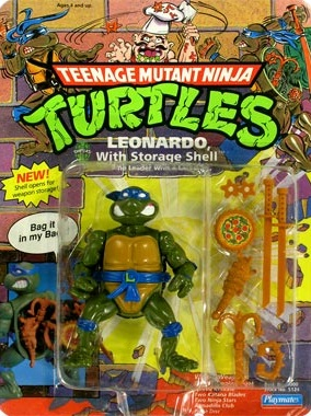 Leonardo with Storage Shell (in box)