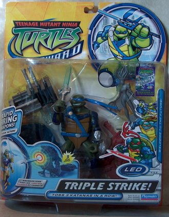 Triple Strike Leo (Fast Forward) boxed