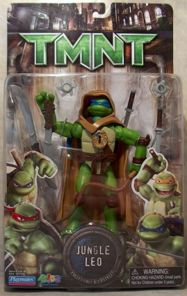 Jungle Leo (TMNT 2007 film) boxed