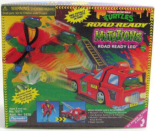 Road Ready Leo (in box)
