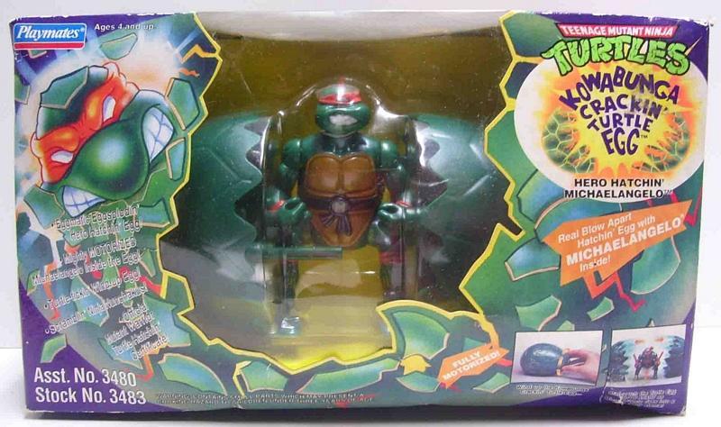 Kowabunga Crackin' Turtle Egg Mike