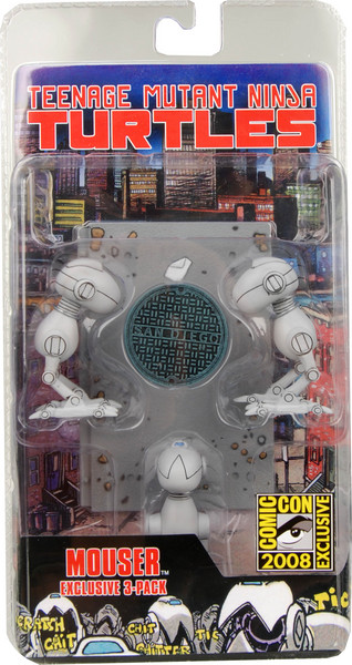 Mouser. Exclusive 3-pack (boxed)