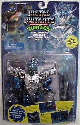 Metal Mutant Leonardo with Dragon Spirit Armor (in box)