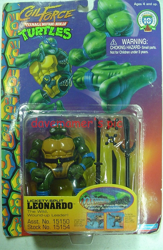Lickety Split Leonardo (in box)