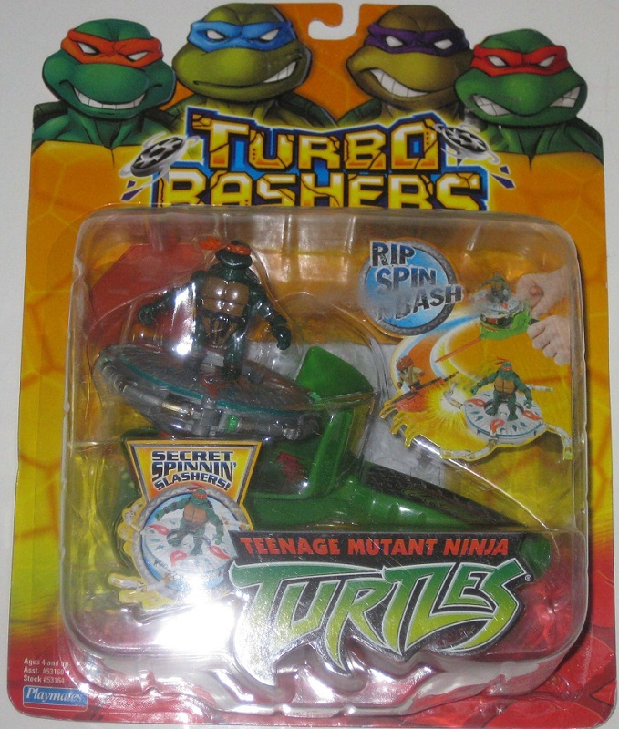 Turbo Basher Michelangelo (boxed)