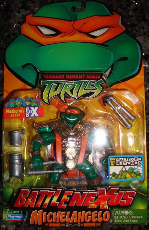 Battle Nexus Michelangelo (in box)