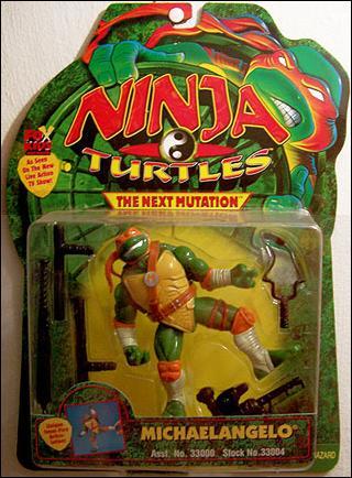 Michaelangelo from Next Mutation (in box)
