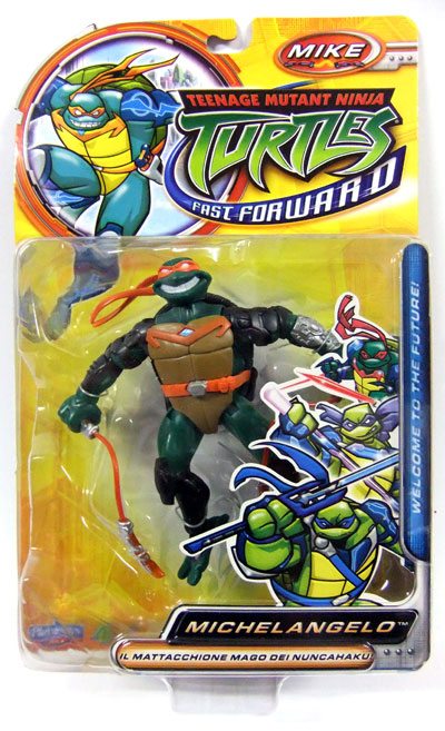 Michelangelo from Fast Forward (in box)