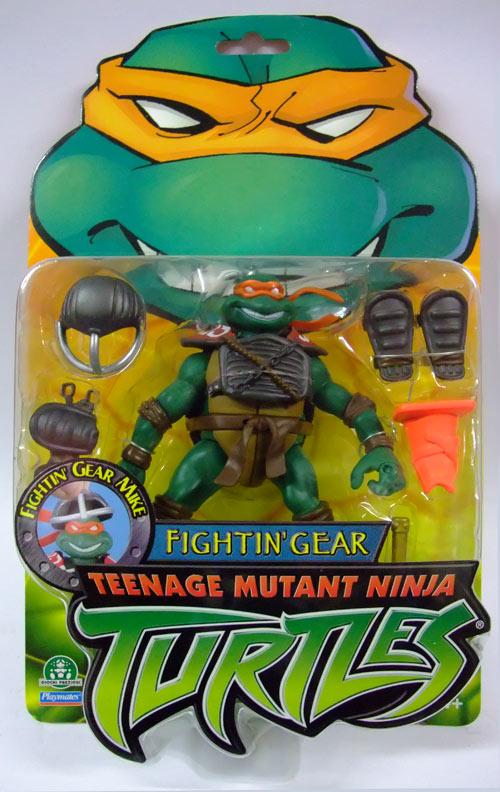 Mini Fightin' Gear Michelangelo (in box)