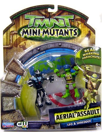 Mini-Mutants Aerial Assault Leo & Shredder (boxed)