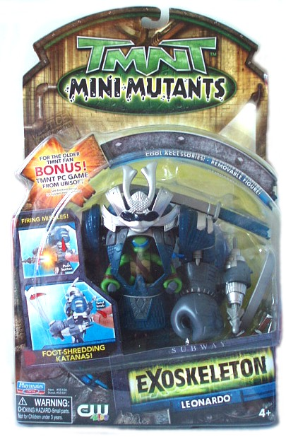 Mini-Mutants Exoskeleton Leonardo (boxed)