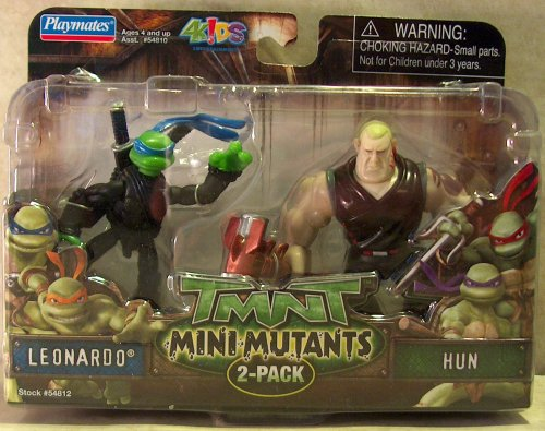 Mini-Mutants Leonardo vs. Hun (boxed)