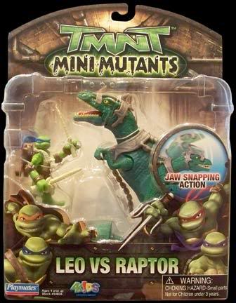 Mini-Mutants: Leo vs. Raptor (boxed)