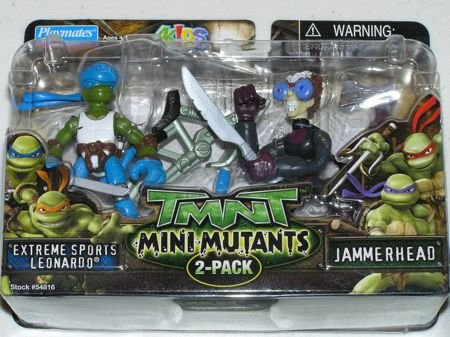 Mini-Mutants Extreme Sports Leonardo VS. Jammerhead (boxed)