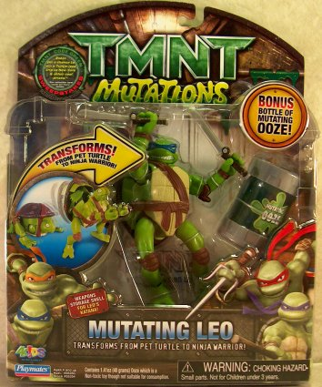 Mutating Leo (TMNT 2007 film) ищчув
