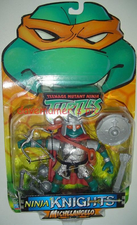 Ninja Knights Michelangelo (boxed)
