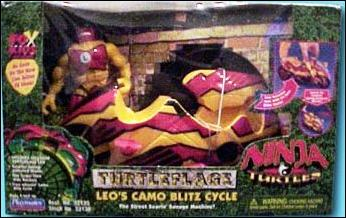 Turtleflage Leo's Camo Blitz Cycle (Next Mutation) in box
