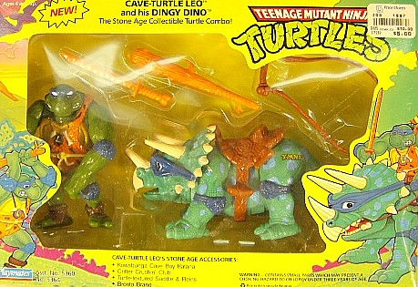 Cave Turtle Leo and his Dingy Dino (in box)