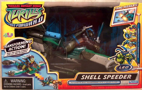 Shell Speeder Leo (Fast Forward) boxed