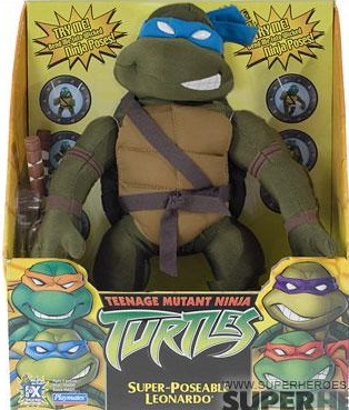 Super-Poseable Leonardo (in box)