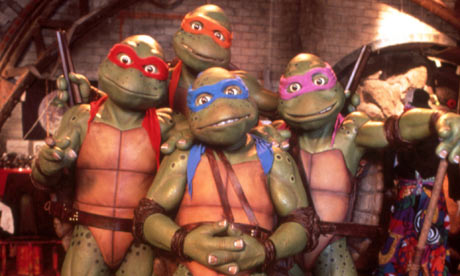 Turtles from third movie