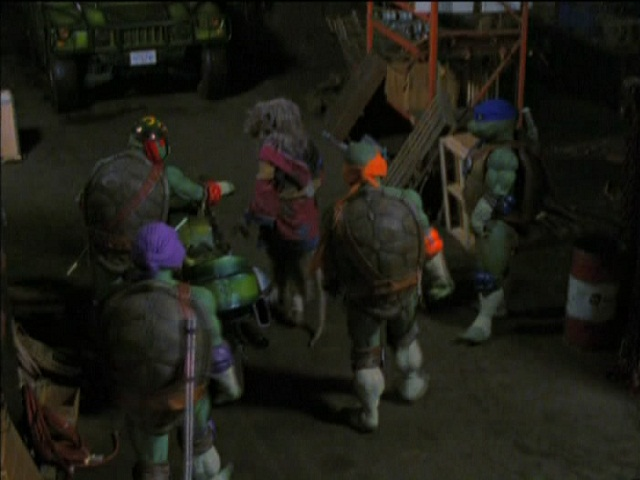 Ninja Turtles: The Next Mutation (shot 2)