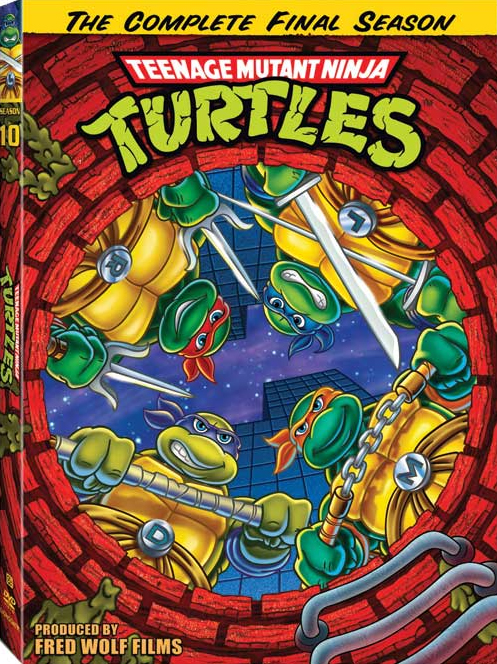 DVD-cover 10 season TMNT