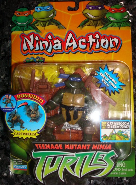 Ninja Action Donatello (boxed)