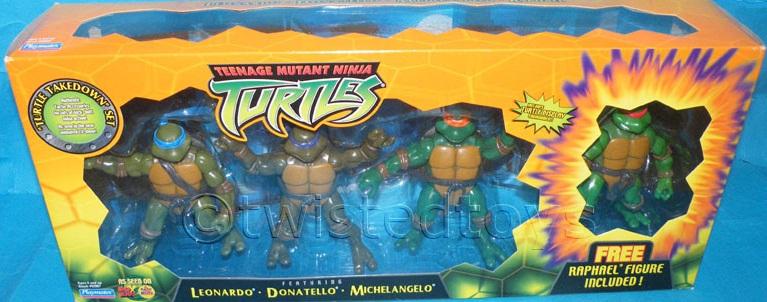 Turtle Takedown Set (boxed)