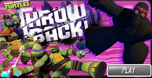 TMNT: Throw Back! (screenshot)
