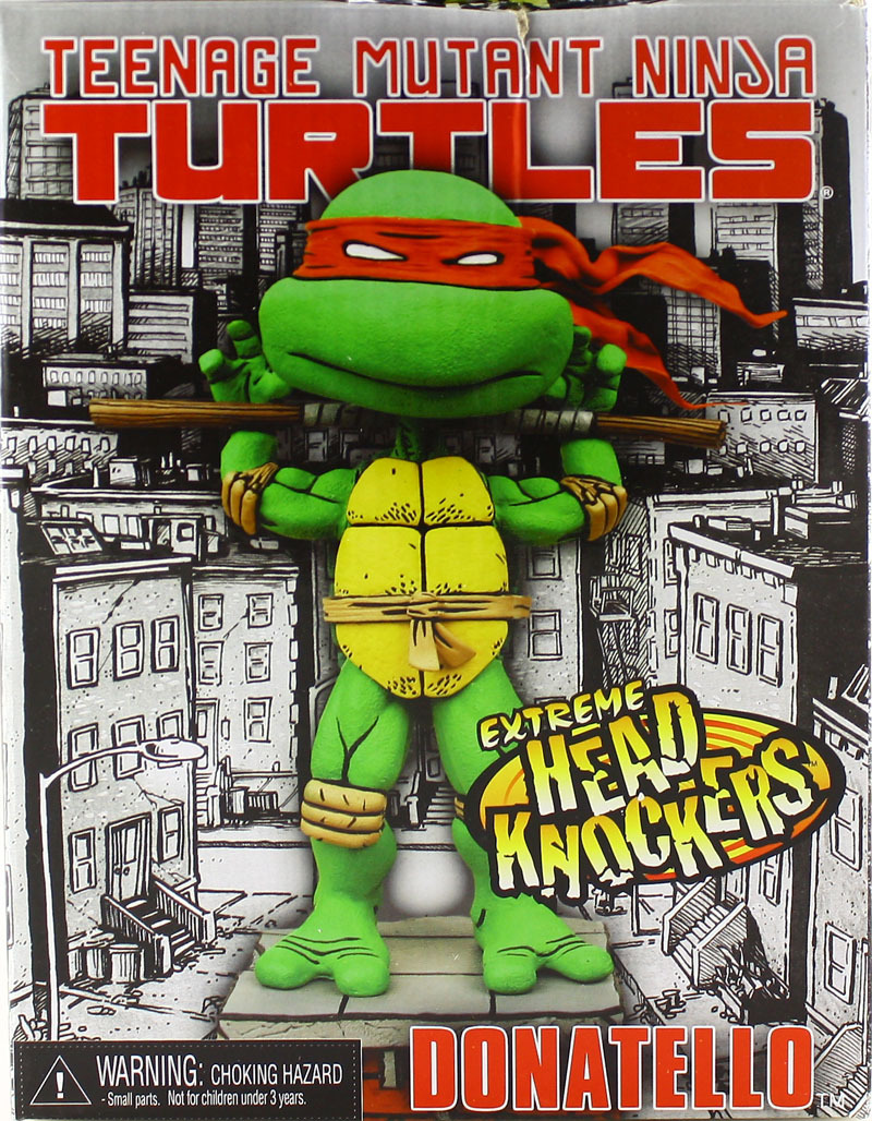 Headknockers. Donatello (boxed)