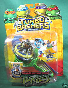 Turbo Basher Donatello (boxed)