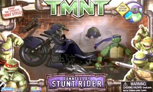 Donatello Stunt Rider (boxed)