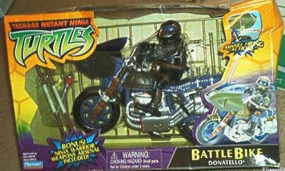 BattleBike Donatello (boxed)
