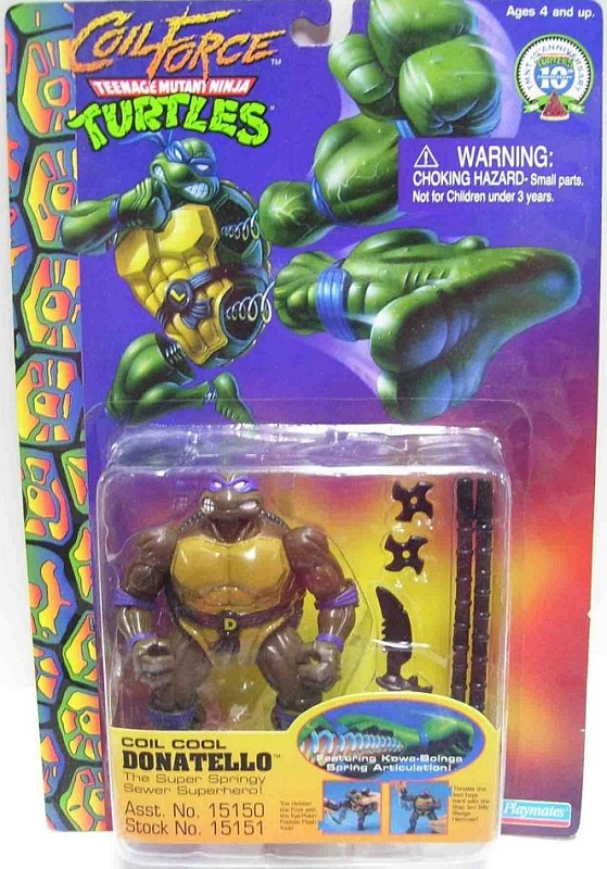 Coil Force Donatello (boxed)