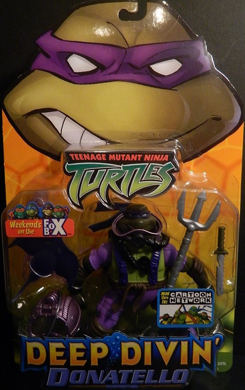 Deep Divin' Donatello (boxed)