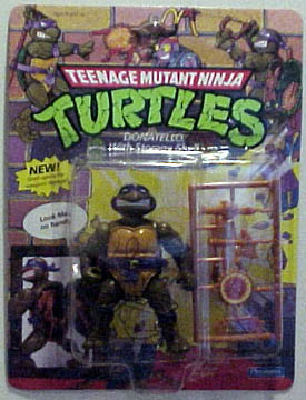 Donatello, the Storage Shell Turtle (boxed)