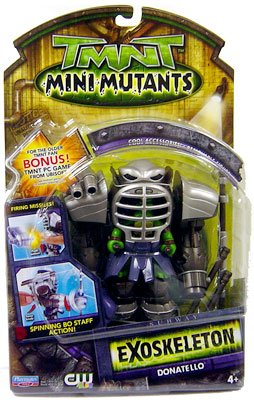 Mini Mutants. Exoskeleton Donatello (boxed)