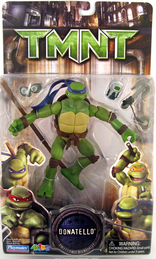 Donatello TMNT 2007 figure (boxed)