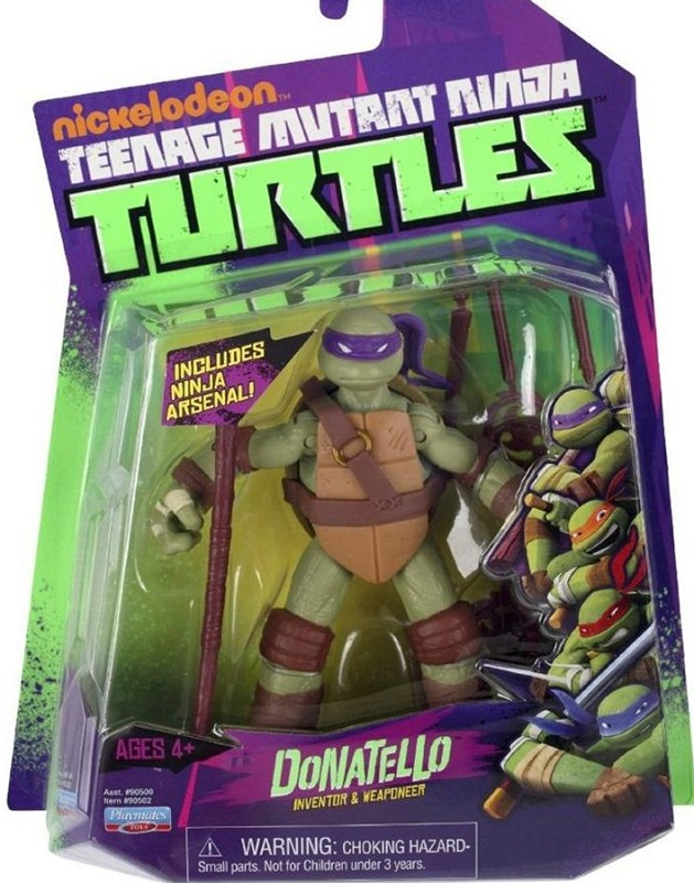 Donatello 2012 action figure (boxed)
